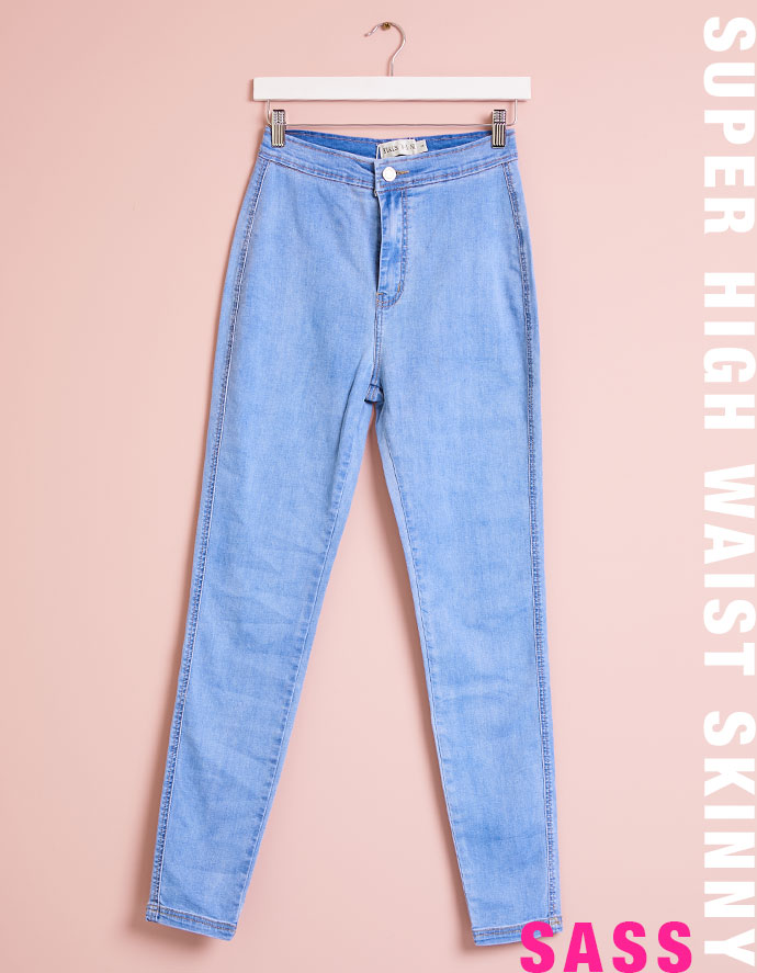 Super High Waist Skinny